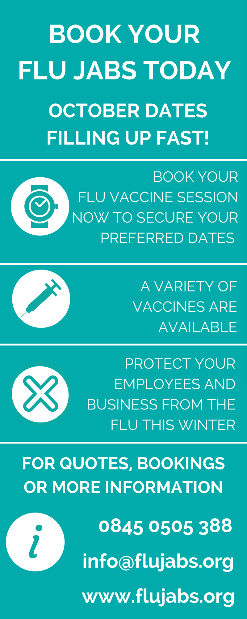 Flu Jabs London Corporate Flu Vaccination Programme